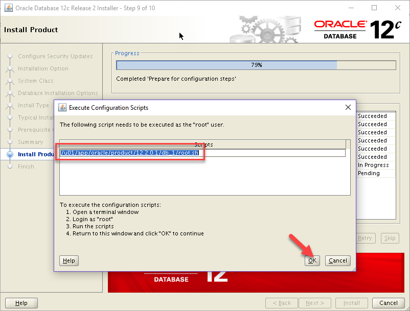 oracle 12.2 installation guide