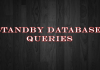 Standby Database Queries