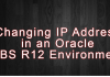 Changing IP Address in an Oracle EBS R12 Environment
